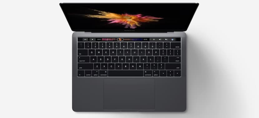 MBP 2016 con Touch Bar