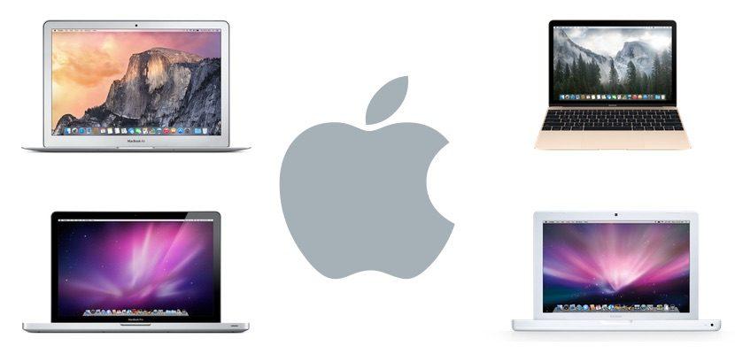 Modelos de MacBook