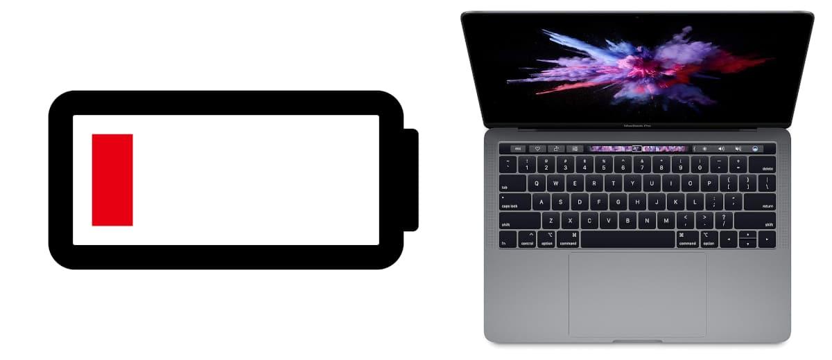 batería baja macbook