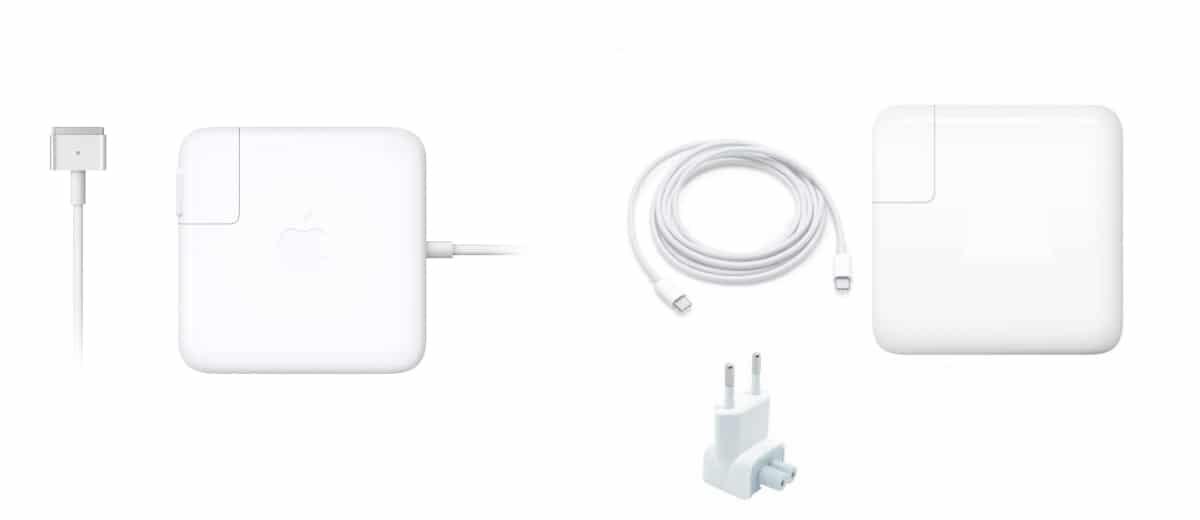 conectores cargador macbook